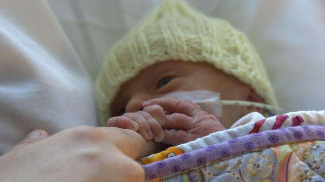 Newborn Premature Baby with Feeding Tube - Twins & More