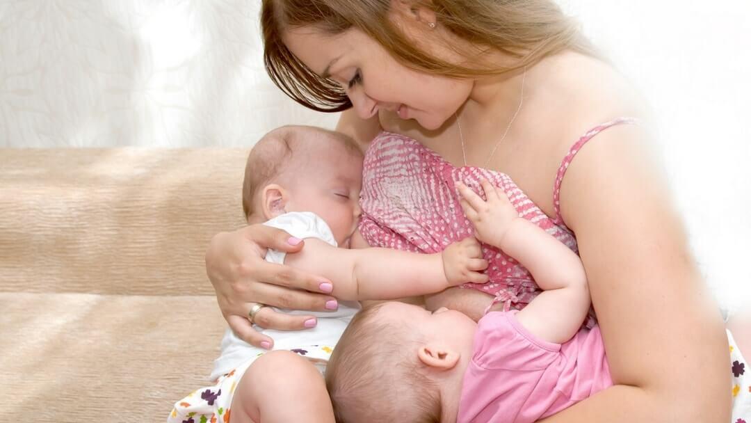 Breastfeeding Twins - Tandem Feeding Twins - Twins & More