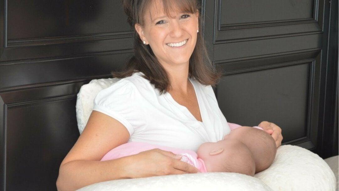 Twin Z Feeding Pillow Tandem Breastfeeding Twins - Twins & More