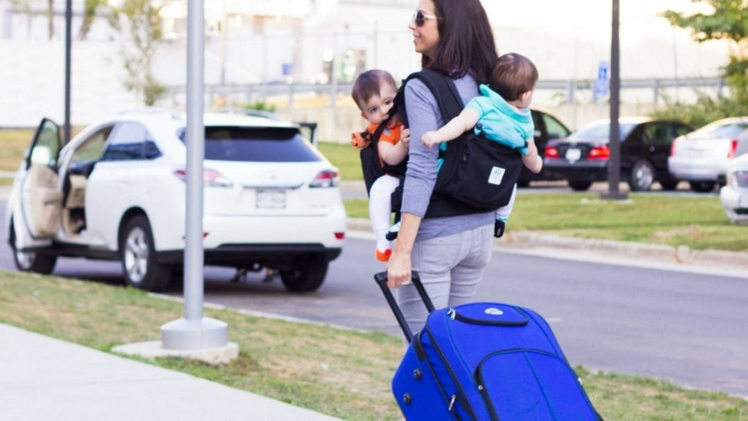 Tips for travelling long distance with twin babies