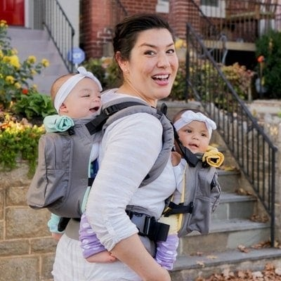 Twingo Carrier - Twin Baby Carrier - Twins & More