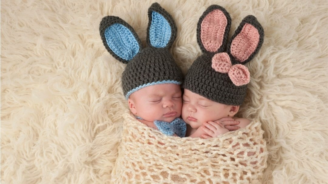 Cute Easter Products for Twins