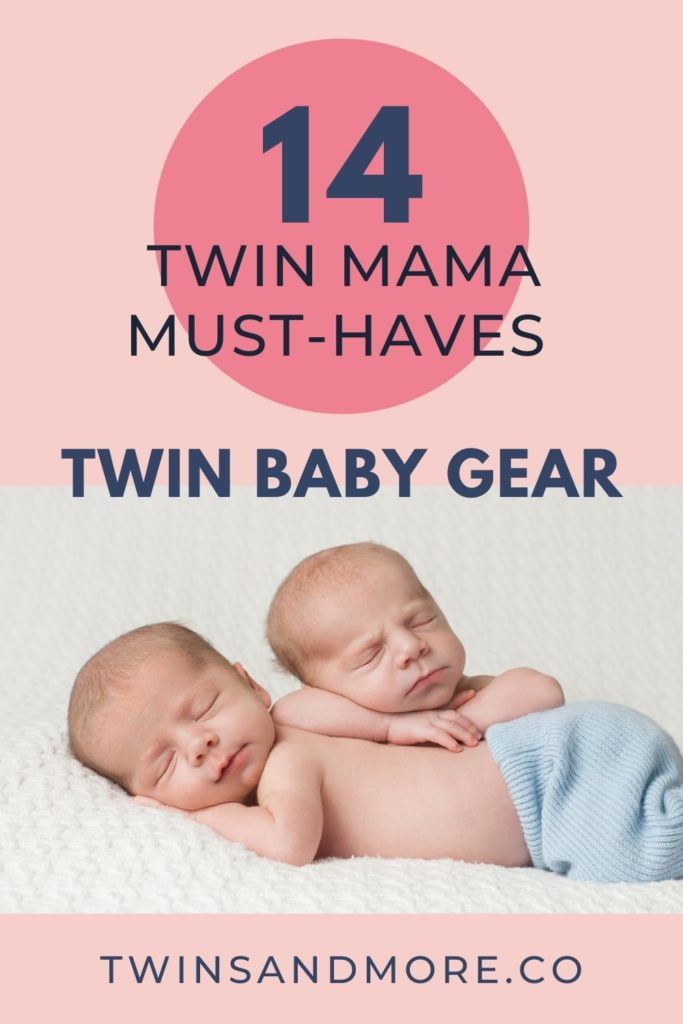 Twin Baby Gear - Twin Mama Must Haves - Pinterest Image