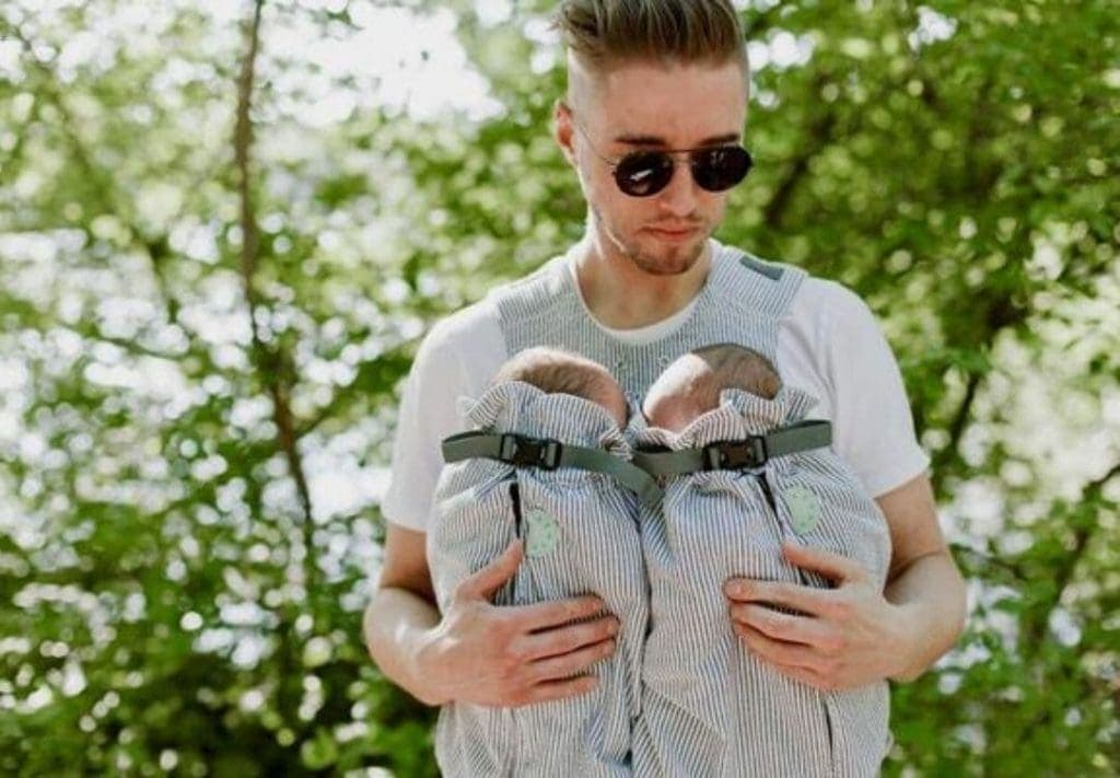 Best Twin Baby Gear - Weego Twin Carrier - Twins & More