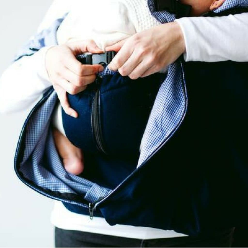 Weego Twin Carrier Inner Pouch and clip system