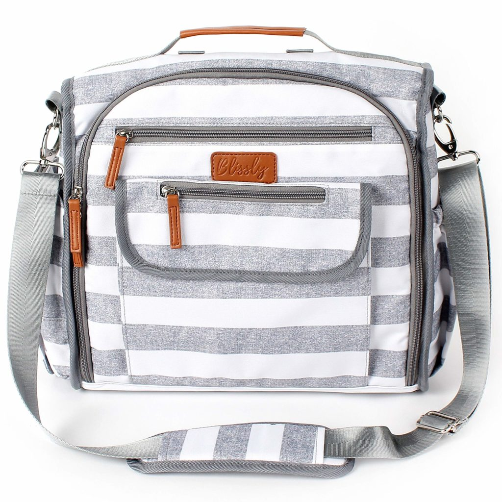 Blissly Convertible Diaper Bag for Twins