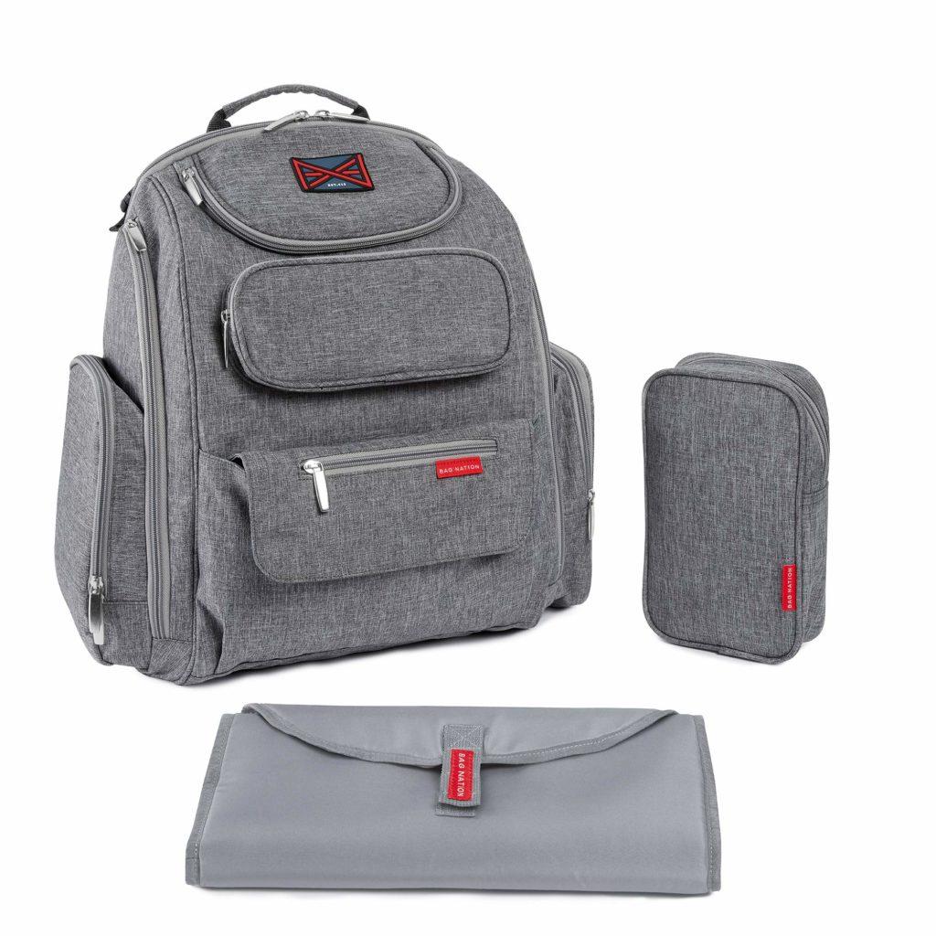 Bag Nation Backpack Diaper Bag for Twins