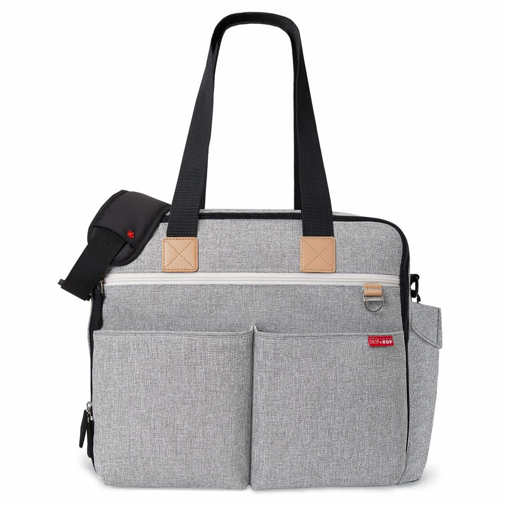 Skip Hop Diaper Bag: Iconic Duo Weekender for Twins